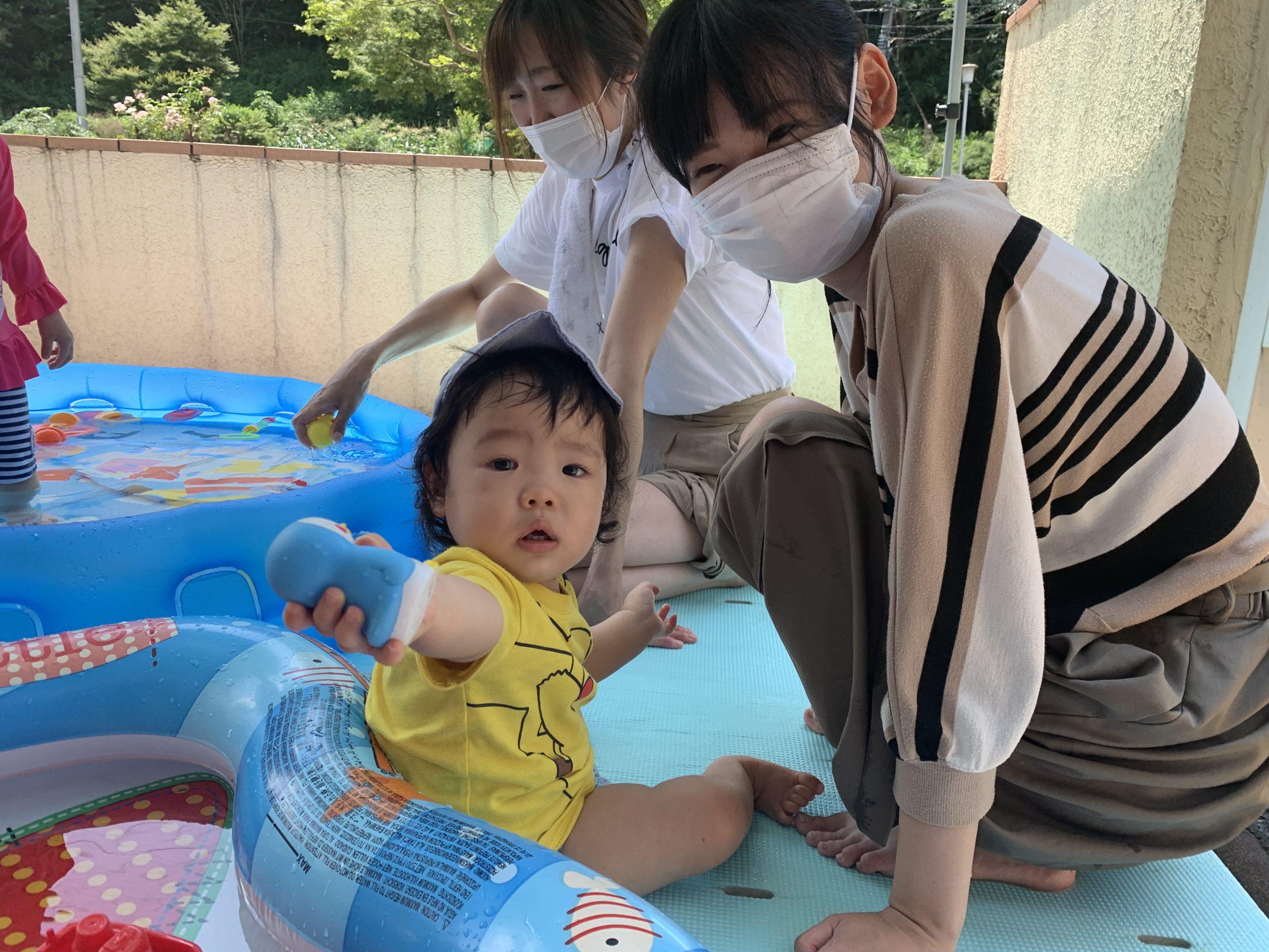 プールあそび&つくって☆